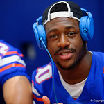 University of Florida Gators wide receiver Josh Hammond as the Gators hold their annual fan day, signing autographs and mingling with the fans.  August 19th, 2017.  Gator Country photo by David Bowie.
