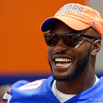University of Florida Gators tight end C'yontai Lewis as the Gators hold their annual fan day, signing autographs and mingling with the fans.  August 19th, 2017.  Gator Country photo by David Bowie.