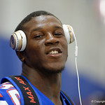 University of Florida Gators running back Adarius Lemons as the Gators hold their annual fan day, signing autographs and mingling with the fans.  August 19th, 2017.  Gator Country photo by David Bowie.