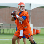 Florida Gators quarterback Luke Del Rio as the Gators run through practice drills during the Gators second fall practice of the 2017 season.  August 4th, 2017.  Gator Country photo by David Bowie.