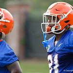 Florida Gators wide receiver Antonio Callaway as the Gators run through practice drills during the Gators second fall practice of the 2017 season.  August 4th, 2017.  Gator Country photo by David Bowie.
