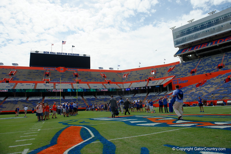 University of Florida Gators Football Gator Walk LSU Tigers 2017