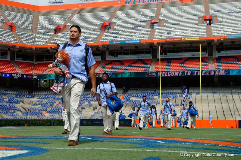 University of Florida Gators Football Gator Walk LSU Tigers 2017