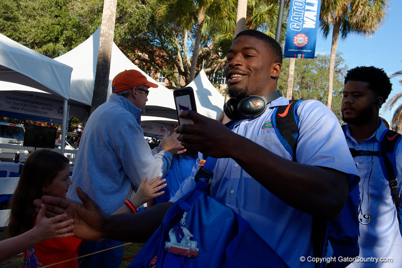 University of Florida Gators Football Gator Walk FSU Seminole2017