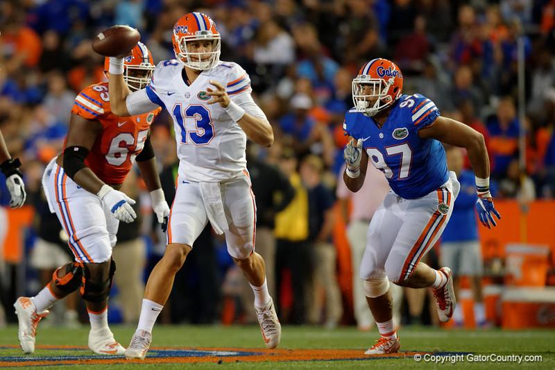 Florida Gators Football 2017 Orange and Blue Debut