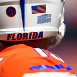 University of Florida Gators quarterback Feleipe Franks during pre-game in which the Gators lost 38-22 to the Florida State Seminoles at  Ben Hill Griffin Stadium in Gainesville, Florida. November 25th, 2017.  Gator Country photo by David Bowie.
