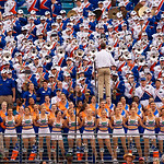 The Florida Gators band performing during the second half as the Gators lose to 42-7 to the Georgia Bulldogs at EverBank Field in Jacksonville, Florida.  October 28th, 2017.  Gator Country photo by David Bowie.