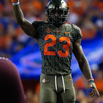 University of Florida Gators defensive back Chauncey Gardner, Jr. during the first haf as the Florida Gators drop to 3-3 on the season with a loss to tne Texas A&M Aggies 19-17 at Ben Hill Griffin Stadium in Gainesville, Florida. October 14th, 2017.  Gator Country photo by David Bowie.