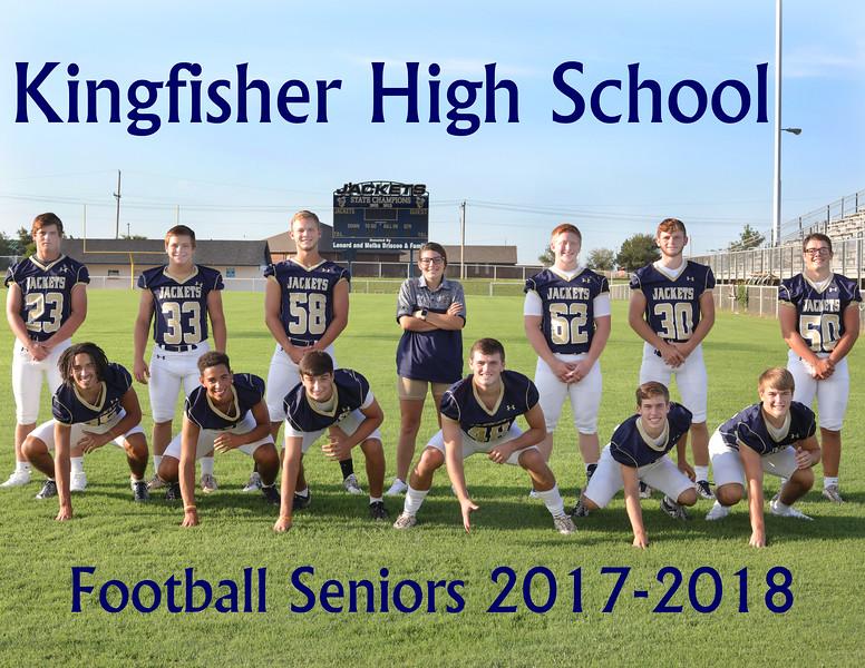 Seniors 2017 field