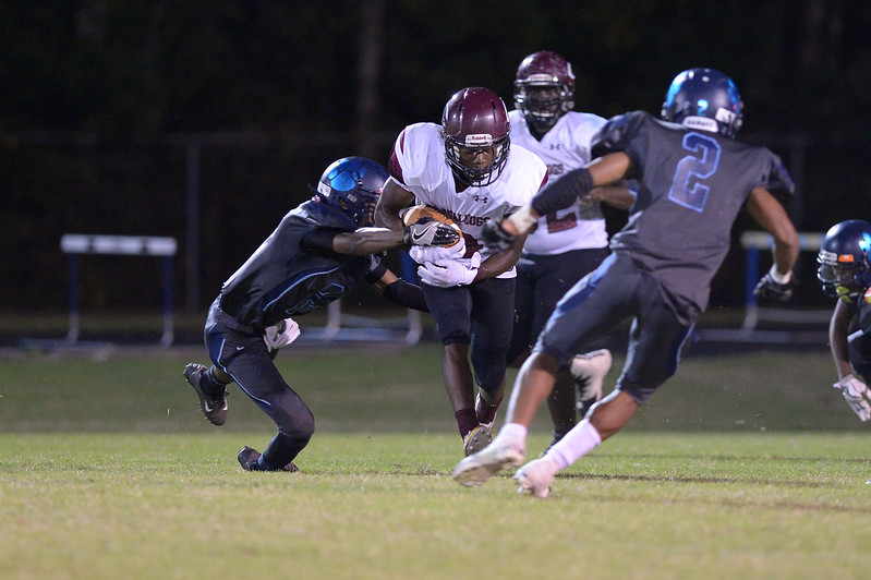 during tonight's game.Southwest Edgecombe defeats Nash Central 24-14, Friday evening October 13, 2017 (Photos by Anthony Barham / WRAL contributor.)