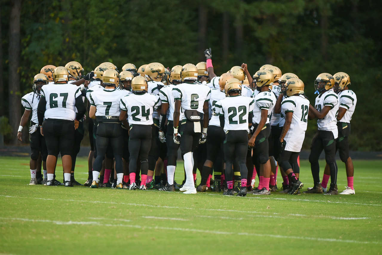 Northern Nash during tonight game.Southern Nash defeats Northern Nash 49-0 Friday evening October13, 2017 (Photos by Anthony Barham / WRAL contributor.)