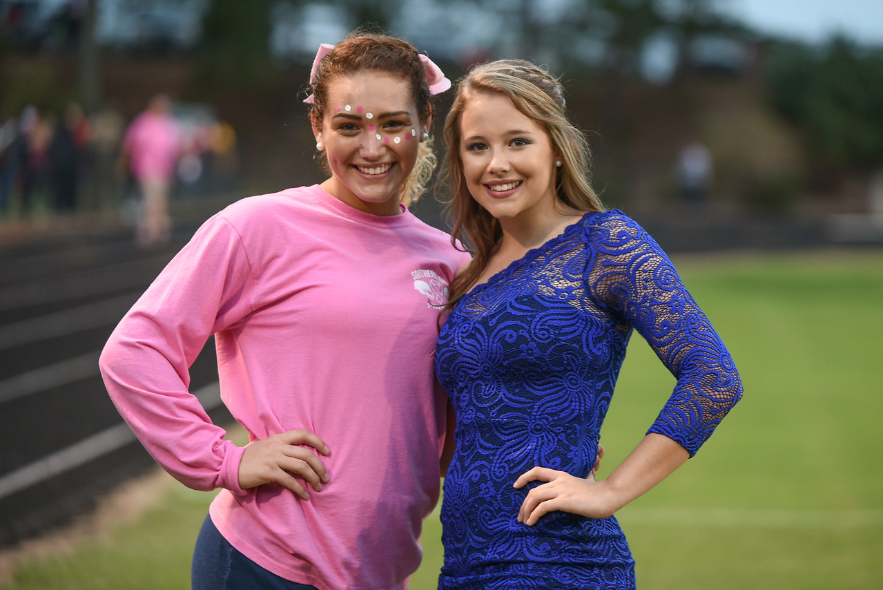 Southern Nash students during tonight game.Southern Nash defeats Northern Nash 49-0 Friday evening October13, 2017 (Photos by Anthony Barham / WRAL contributor.)