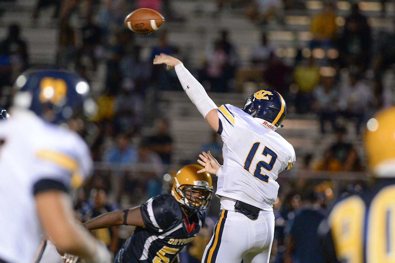 D.H. Conley  defeats Rocky Mount 60-43, Friday evening August 25, 2017 in Rocky Mount , NC (Photos by Anthony Barham / WRAL contributor.)