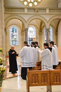2017 Fourth Year Vespers