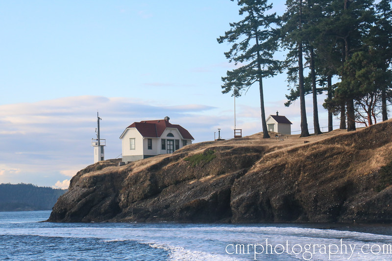 Turn Point Lighthouse, Stuart Island, San Juan Islands, WA
