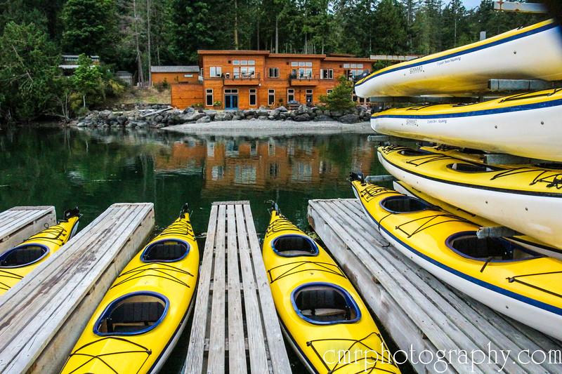 Snug Harbor Resort (San Juan Island) and Crystal Seas kayaks