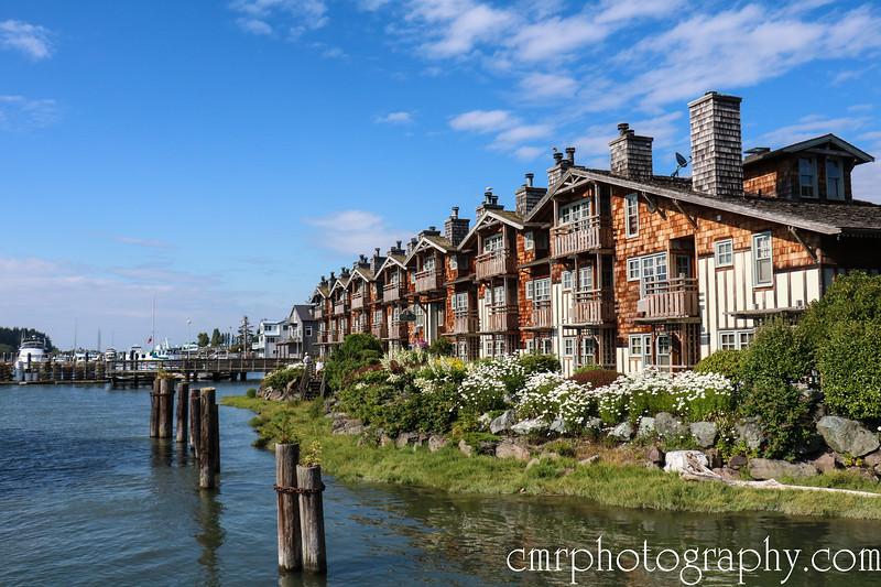 Historic Waterfront, La Connor, WA