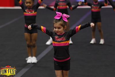 Cheer Fuzion AllStars Tiny 1 Stars