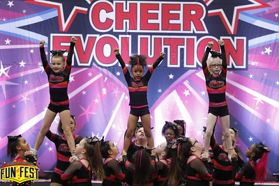 Cheer Fuzion AllStars Youth 1 Pink Storm