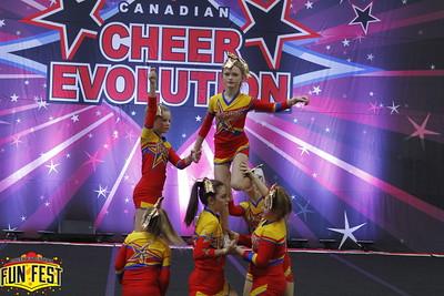 Inspire Cheer Small Junior 1 Dazzle