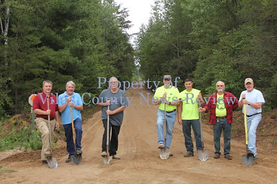 Conover-Phelps Bike Trail Addition Groundbreaking