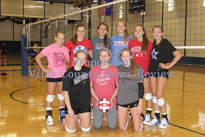 Northland Pines Returning Volleyball Lettewinners