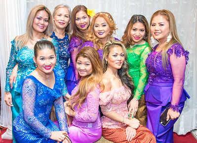 Cambodian New Year (Legend):  April 1, 2017