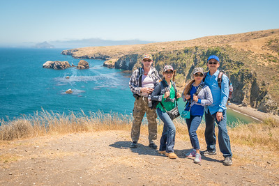 Channel Islands National Park (Santa Cruz Island):  June 20, 2017