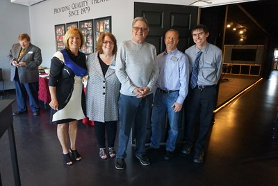 Curtain Call Community Theater Ribbon Cutting & Business After Hours May 11, 2017