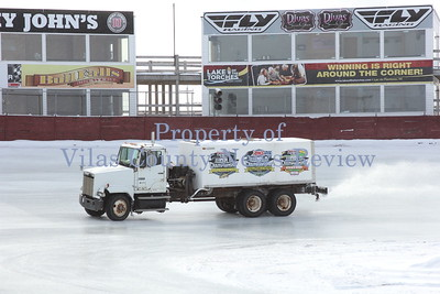 Icing the Derby Track