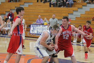 Three Lakes Boys Basketball vs. Wakefield-Marenisco Cardinals