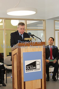 Walter E. Olson Memorial Library Ribbon Cutting