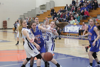 Three Lakes Girls Basketball vs. Goodman-Pembine Patriots