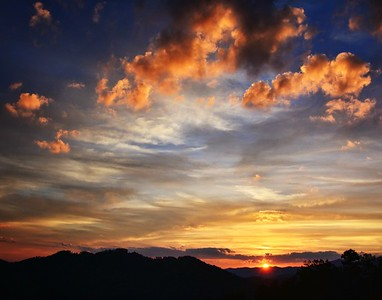 Smokey Mountain Sunset (1)