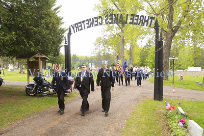 Memorial Day Ceremony - Three Lakes
