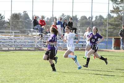 Northland Pines Girls Soccer vs. Mosinee Indians