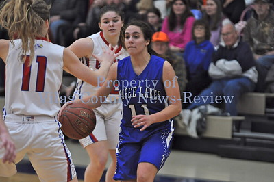 Northland Pines Girls Basketball vs. Three Lakes Bluejays