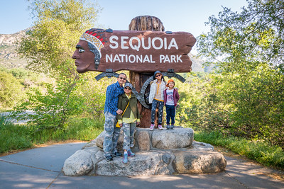 Sequoia National Park Vacation:  April 9-13, 2017