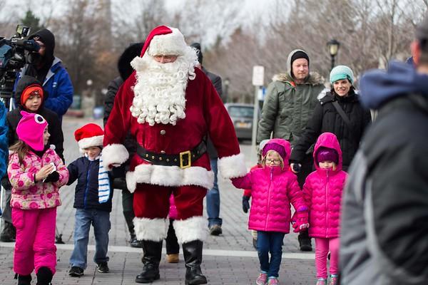 171209 Santa's arrival 3