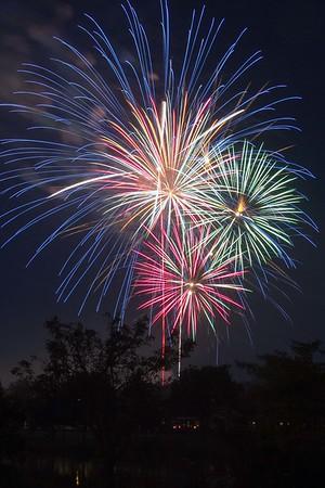 170704 Hyde Park Fireworks 2