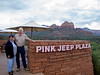 Where we took the Pink Jeep tour at Sedona