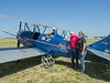 """Getting on the 1929 """"Nostalgic Wings"""" biplane at Wings of the North"""