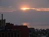 Not too long after sunrise from my hotel room in the Radisson Duluth
