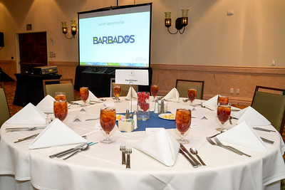 Lunch sponsored by Barbados Tourism Marketing Inc.