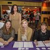 Jaime Robinson, Kristina Sellers, Savannah Robinson and Aura Ulm.