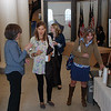 The opening reception was a time for friends, family and program staff to meet informally.