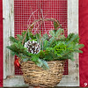#9 Wicker Basket Large w/ Handle