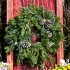"#3 12"" Round Rustic Wreath"