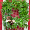 "#2 12"" Sqaure Wreath"