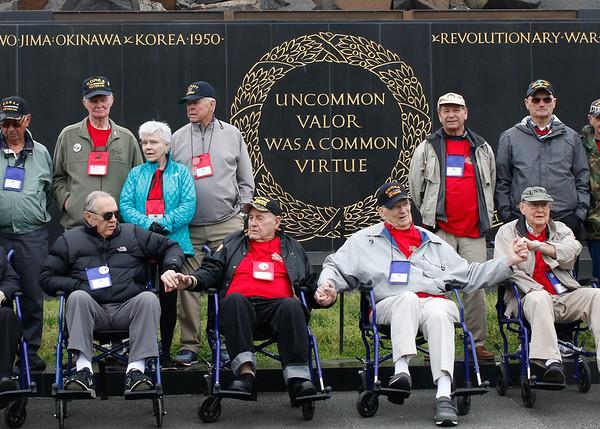 Iwo Jima and Air Force Memorials April 2017